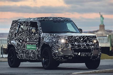 New Land Rover Defender 2020 by New Land Rover Defender Coming To Us In 2020