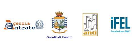 agenzie intesa roma agenzia delle entrate gdf anci ifel firmato protocollo