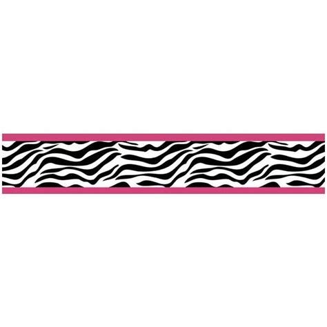 pink and zebra print border free wallpaper zebra wallpaper border