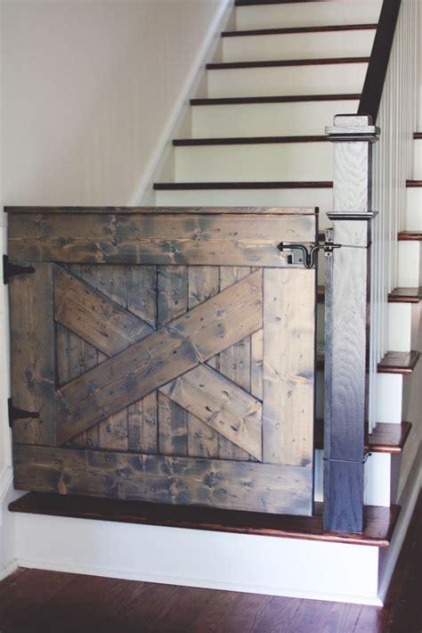 Baby Gate Door by Beautiful Barn Door Baby Gate Winston
