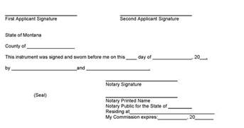 notary signature template sle notary signature block apps directories