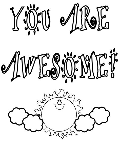 color your day with thank you coloring pages only coloring pages
