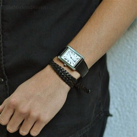 Bvlgari X Turbillon Automatic Leather Black Ring Silver wearing large watches i want to hold your