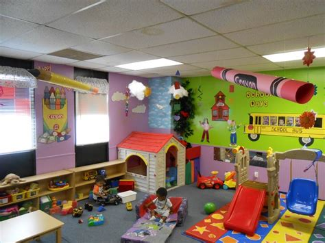 toddler daycare room ideas back to school theme 3d objects from ceiling toddler preschool daycare classroom my