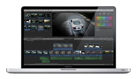 final cut pro editing software apple releases final cut pro x video editing software