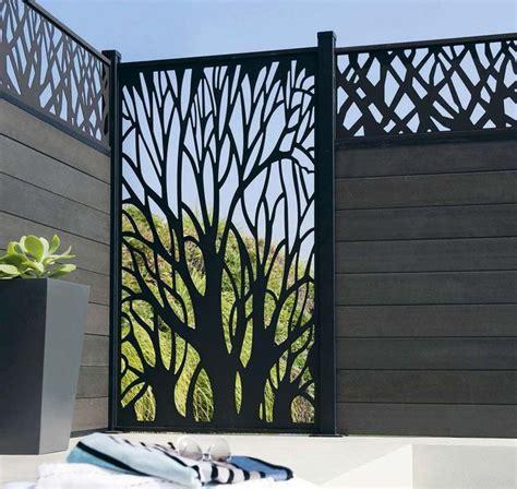 Brise Vue Aluminium Leroy Merlin by Jardin Terrasse Panneaux Brise Vue Pour Se Cacher Des