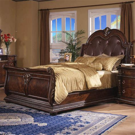 design house furniture gallery davis ca sleigh beds king patterson king sleigh bed walnut park