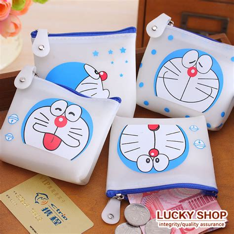 Doraemon Coin Purse Blue popular doraemon bags buy cheap doraemon bags lots from