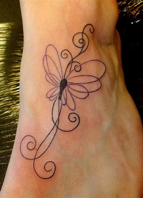 butterfly outline tattoo outline flying swirl butterfly on ankle
