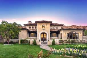 Tuscan Style House Plans by Tuscany 1 Story Home Images Houzz Home Design Houzz