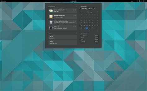 themes gnome 3 16 gnome 3 16 to feature redesigned and superb system