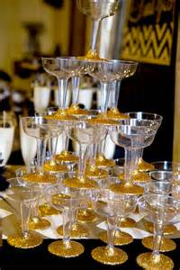 Home Design Gold Tutorial gold and black party champagne bridal shower lillian