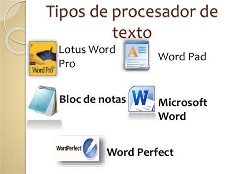 procesador de texto introducci 211 n a los procesadores de textos lessons tes