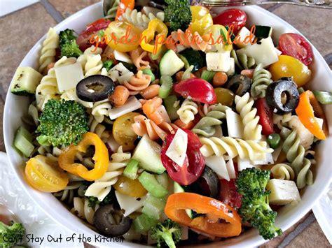 Pasta Salad Recipes Easy garden pasta salad recipe dishmaps