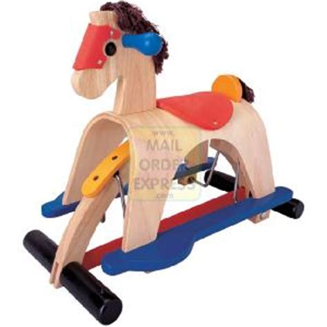 nick tractor rocking horse plans
