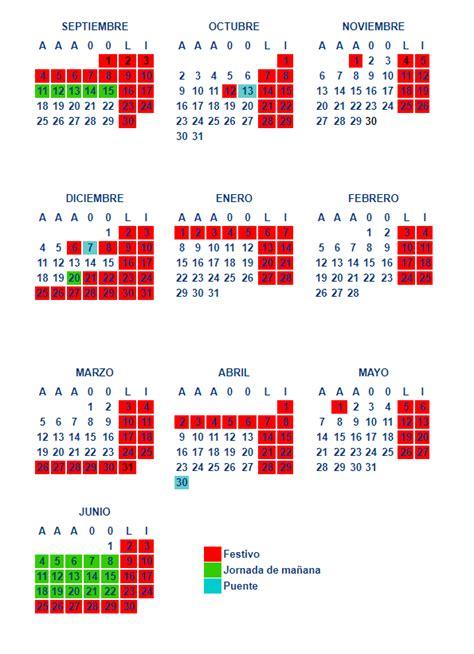 calendario vasco calendarios escolares calendarios