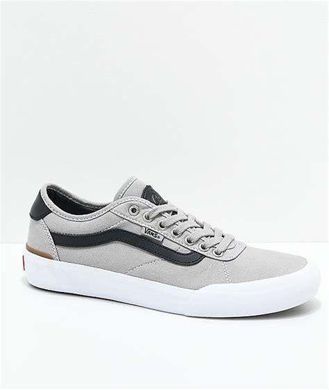 Harga Vans Chima Pro 2 vans chima pro 2 drizzle black white skate shoes zumiez