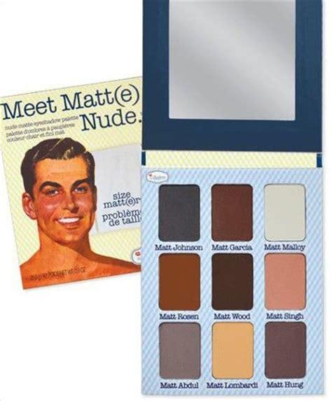 Meet Mat by Thebalm Meet Matt E Eyeshadow Palette Reviews