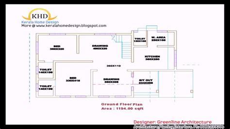 single house floor plans single floor 4 bedroom house plans kerala awesome kerala