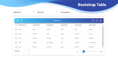 table layout in bootstrap bootstrap table exles tutorial basic advanced