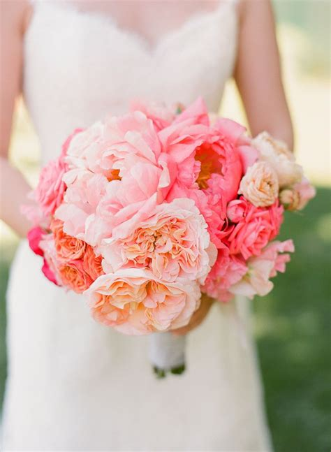 pink peonies wedding 20 breathtaking peony wedding bouquet