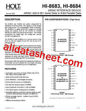 understanding integrated circuits pdf hi 8683 datasheet pdf holt integrated circuits
