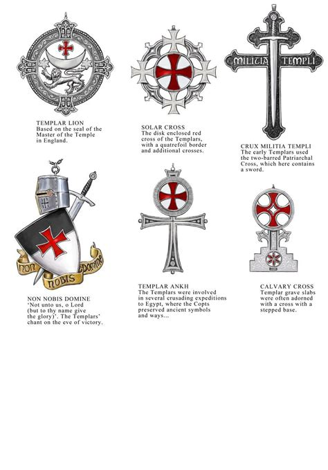 knights templar cross tattoo templar jewellery designs sheet 3 by dashinvaine on