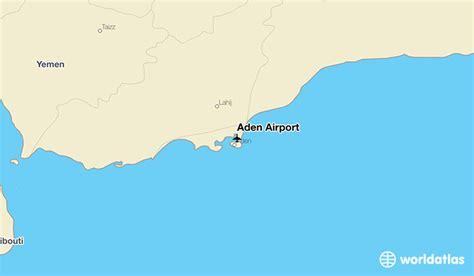 where is aden on the world map aden airport ade worldatlas