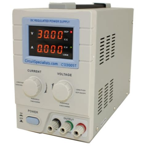 bench power supply circuit 0 30v 0 5a linear bench power supply csi3005t circuit specialists ebay