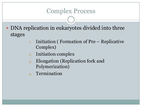 Cd Ori Steps Step One 1 dna replication in eukaryotes