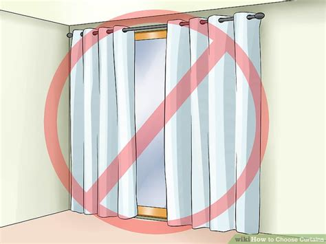 how to choose curtains 4 ways to choose curtains wikihow