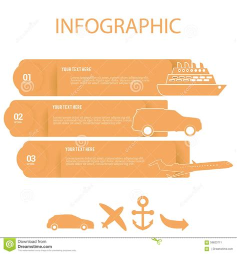 infographic element layout infographic element stock vector image 59823711