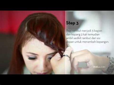 tutorial kepang rambut lace cara membuat kepang perancis doovi