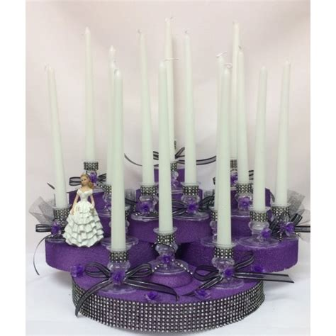 centerpieces for sweet 15 sweet 15 candle holder centerpiece cake decoration 15 ct