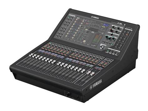 Mixer Yamaha Cl Series yamaha ql1 digital mixer cps