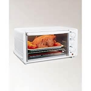 Small White Toaster Oven Hamilton 31160 6 Slice Toaster Oven