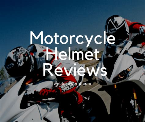 Motorcycle Helmet Reviews   Hands On Reviews for Over 20 Years