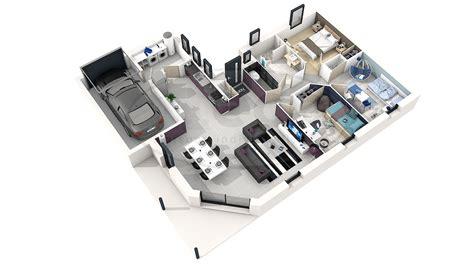 Plan De Maison Moderne 3d by Plan Maison Moderne 3d