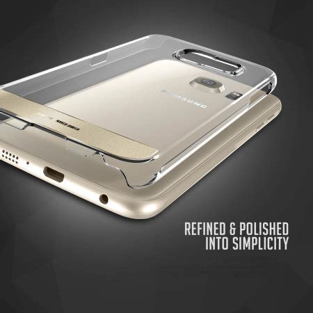 Obliq Shield Samsung Galaxy S8 Plus Clear obliq shield samsung galaxy s6 clear gold