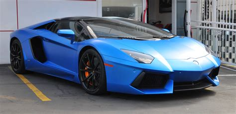 matte blue bentley lamborghini aventador roadster matte blue car