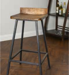 square wooden seat bar stool high chair kitchen counter