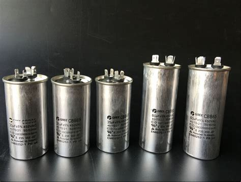 capacitor for air conditioner compressor ac motor capacitor air conditioner compressor start capacitor cbb65 450vac ebay