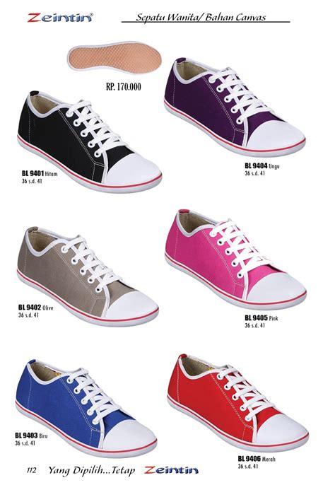 Sepatu Wanita sepatu wanita bahan canvas mall sepatu dan tas