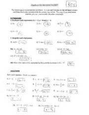 linear test review answer key 6 oc