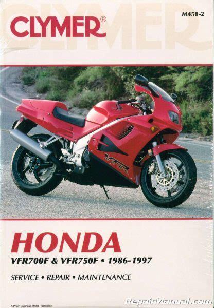 honda vtc motorcycle service manual