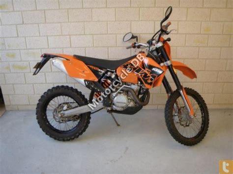 525 Ktm Exc 2006 Ktm 525 Exc Racing Moto Zombdrive