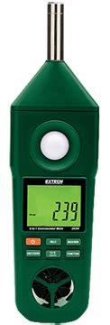 Extech En300 5 In 1 Environment Meters Humidity Tempera Murah extech en300 environmental meter humidity meters hygrometers instrumart