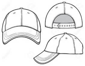 6 Panel Hat Template by Baseball Hat Or Cap Vector Clipart Collection 3