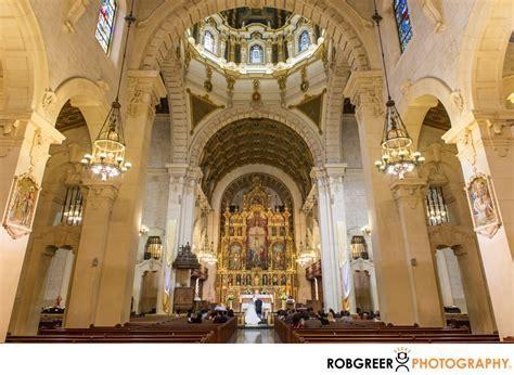 St Vincent de Paul Catholic Church Wedding Photographer