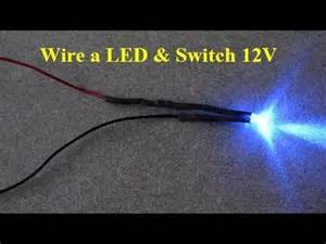 how to wire lights to a battery led車のdiy how to wire car led and switch 12v make